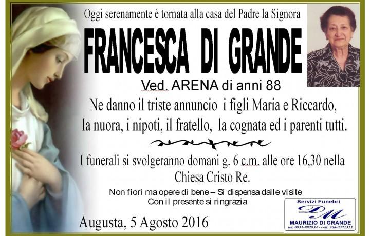 FRANCESCA  DI  GRANDE