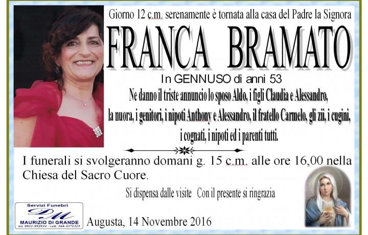 FRANCA  BRAMATO