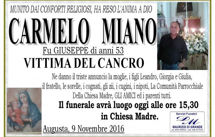 CARMELO  MIANO