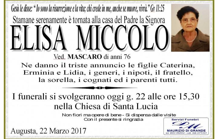 ELISA MICCOLO