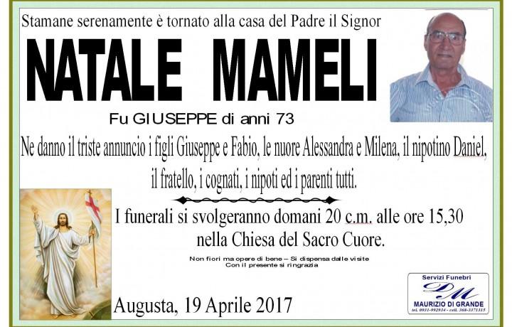 NATALE   MAMELI