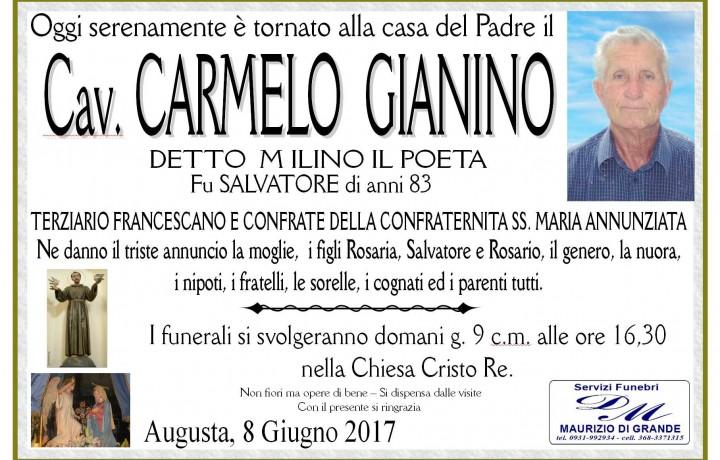 Cav. Carmelo  Gianino