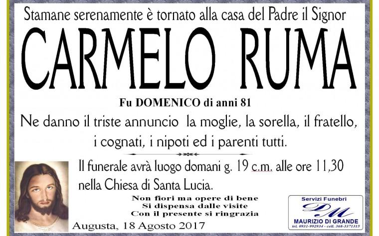 CARMELO RUMA