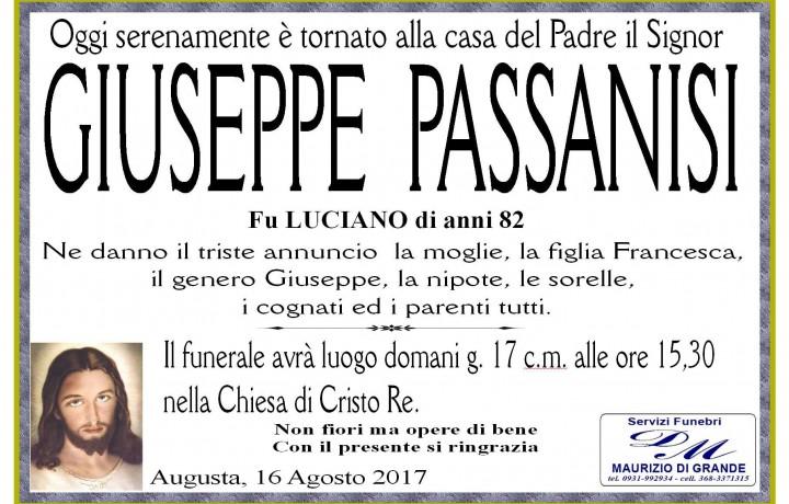 GIUSEPPE PASSANISI