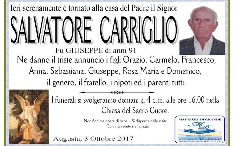 SALVATORE  CARRIGLIO
