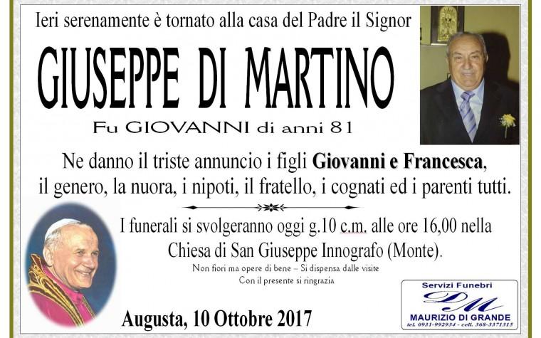 GIUSEPPE  DI MARTINO