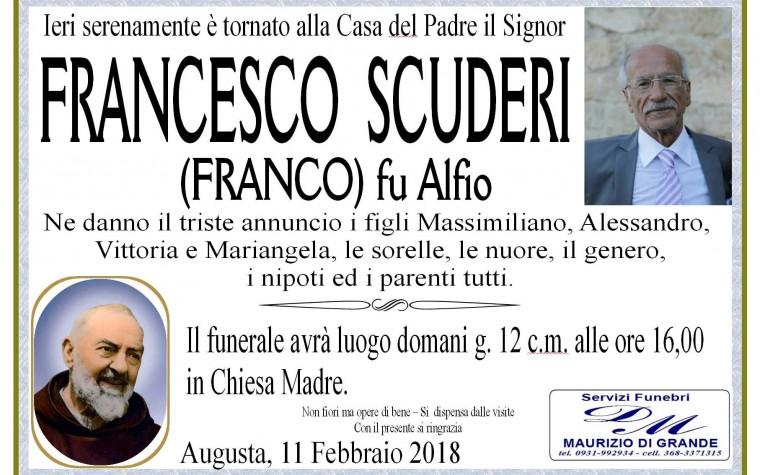 FRANCESCO SCUDERI