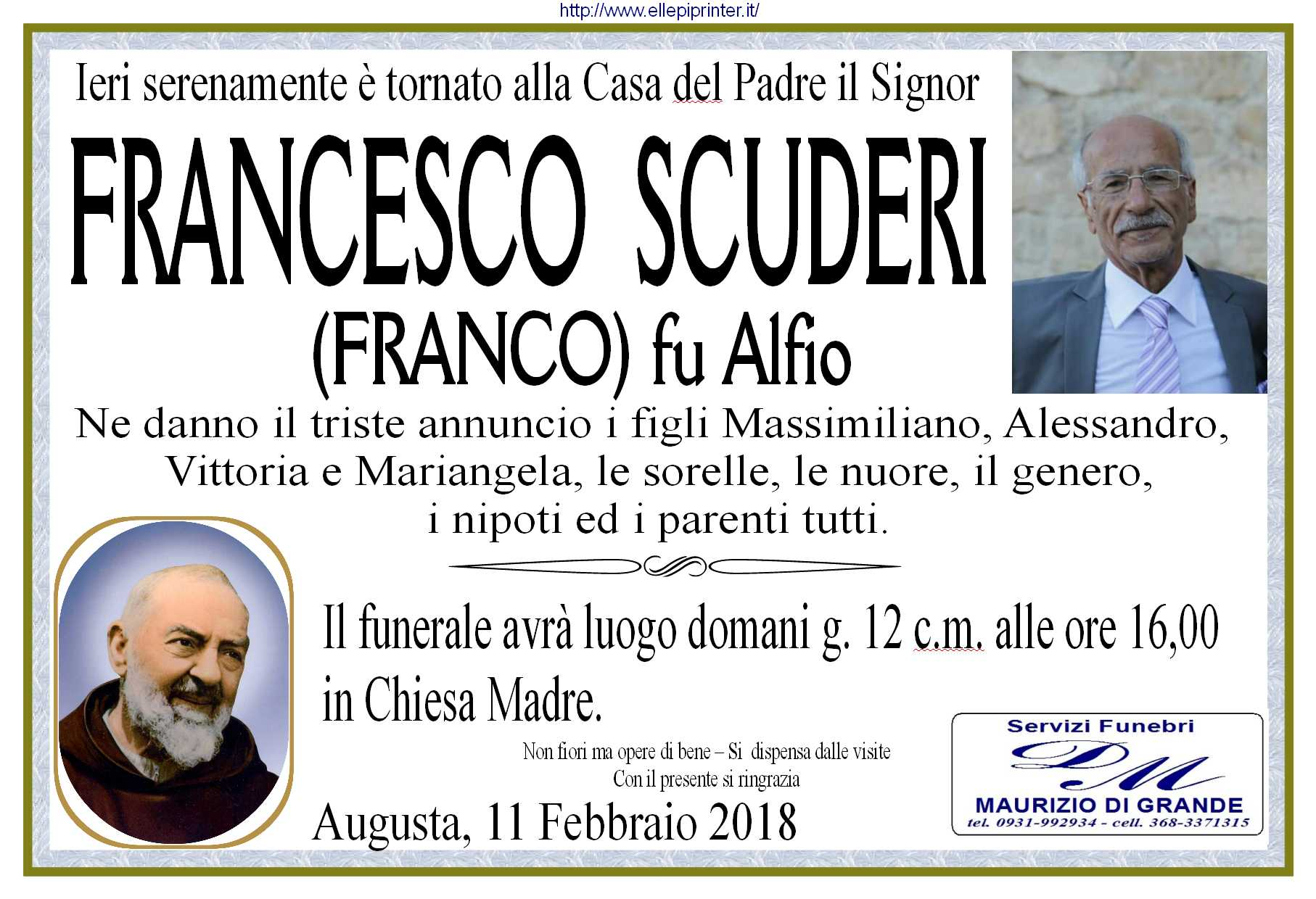 Scuderi Francesco man