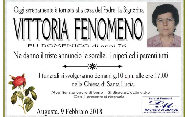 VITTORIA  FENOMENO