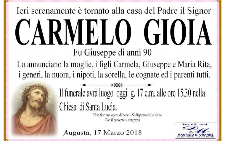 CARMELO  GIOIA