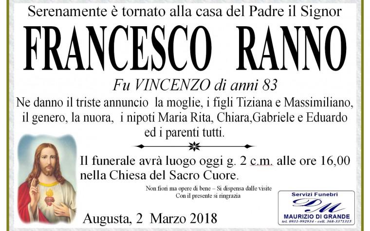 FRANCESCO  RANNO