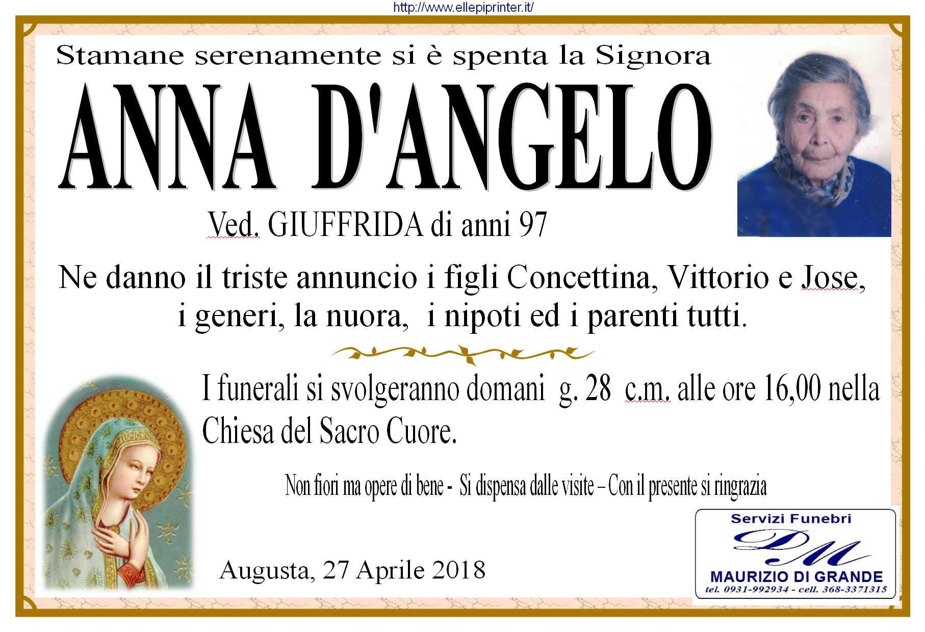 D'Angelo  Anna man