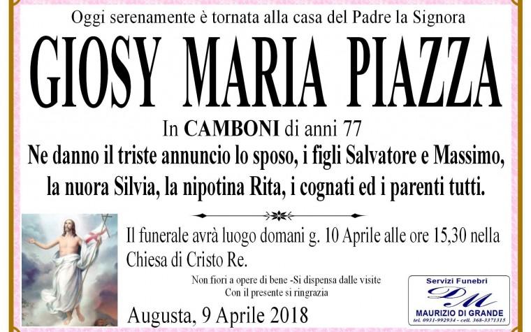 GIOSY MARIA PIAZZA