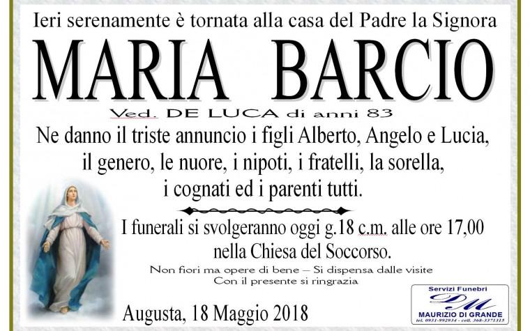 MARIA   BARCIO