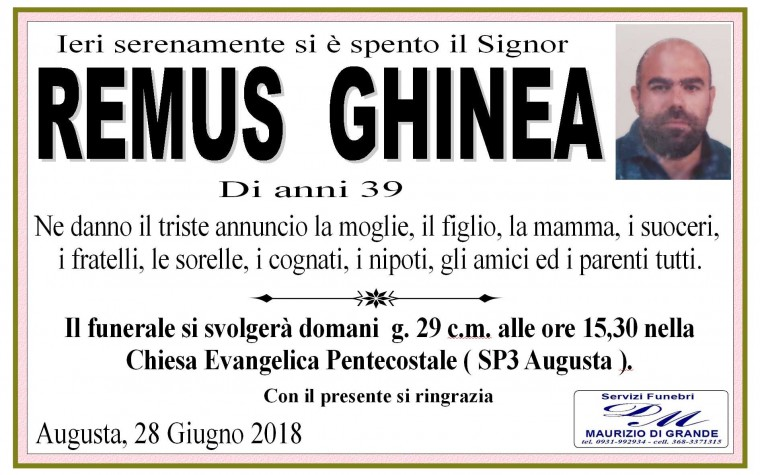 REMUS GHINEA