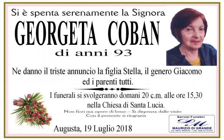 GEORGETA  COBAN
