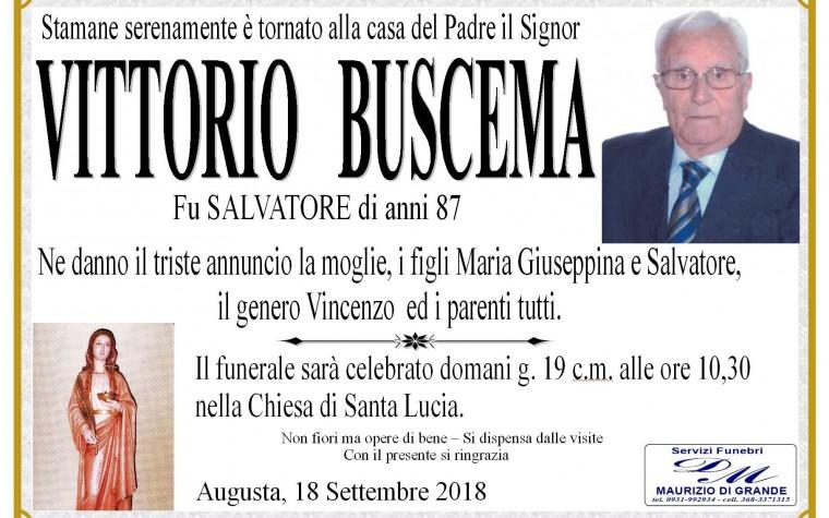 VITTORIO  BUSCEMA
