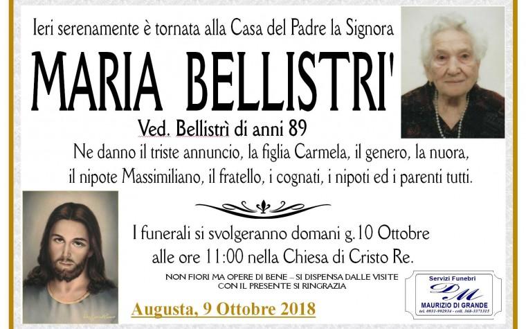 BELLISTRI'  MARIA