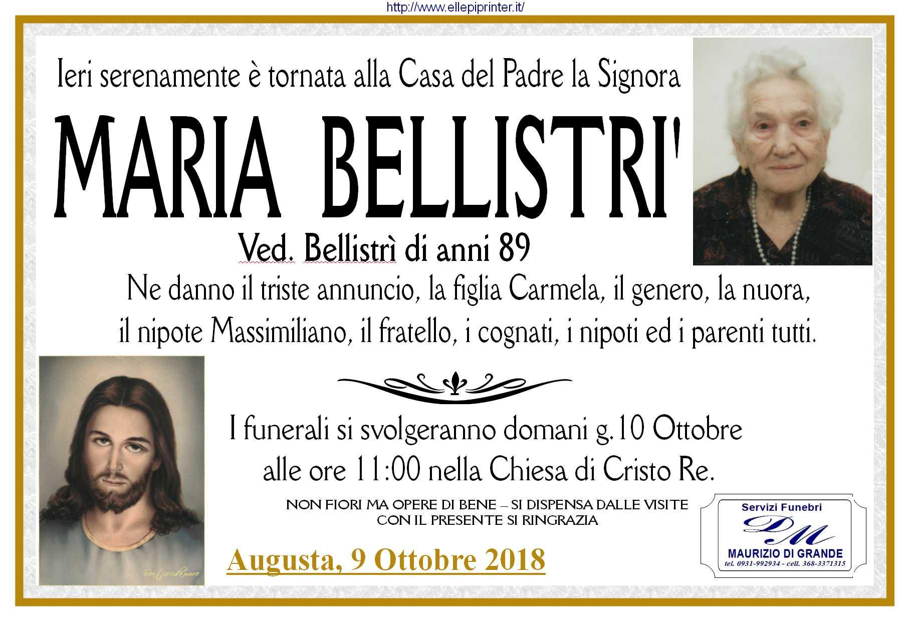 Maria Bellistri man